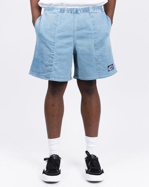 Quartersnacks Quartersnacks Denim Shorts Light Blue