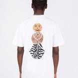 Quartersnacks Safari Snackman Charity T-Shirt White