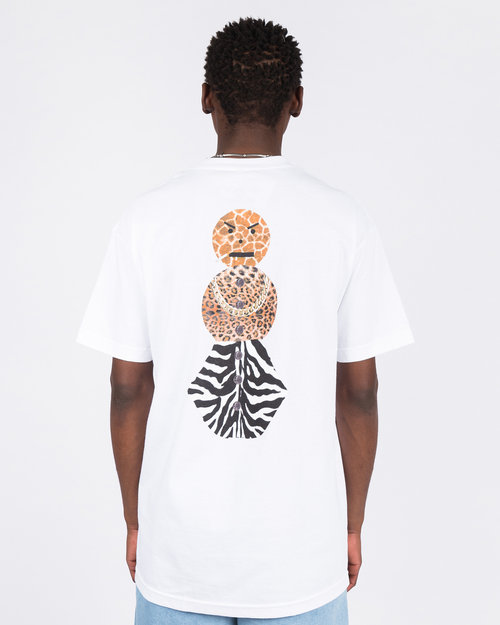 Quartersnacks Quartersnacks Safari Snackman Charity T-Shirt White