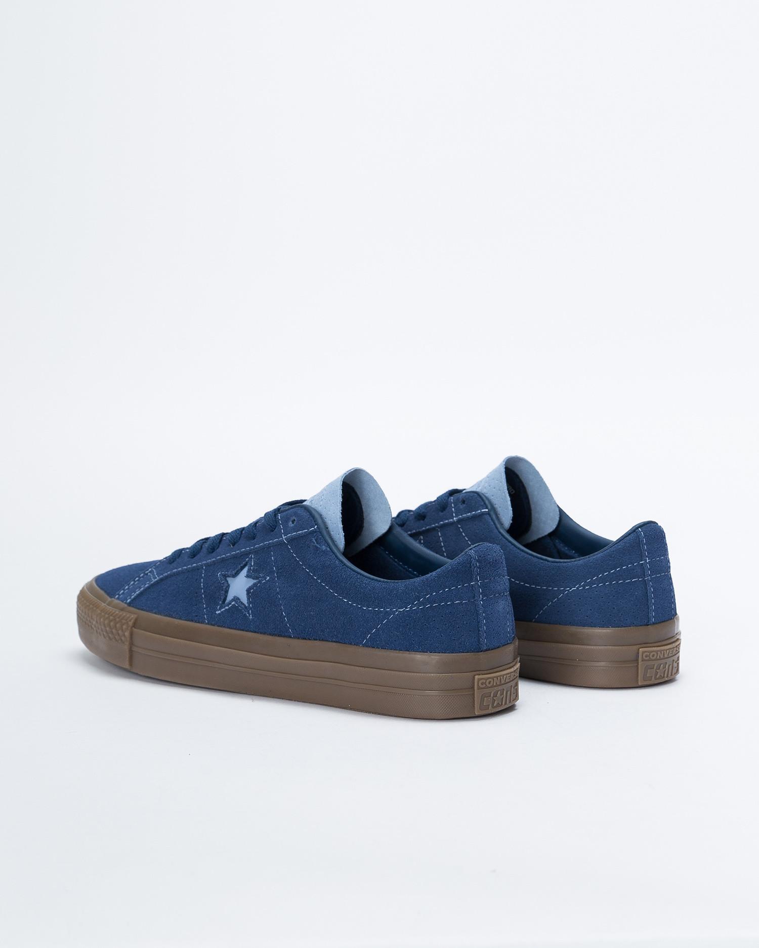 Converse One Star Pro Ox Navy/Indigo Fog/Brown