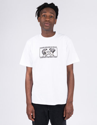 Carhartt X Passport Good Bye T-shirt Passport White