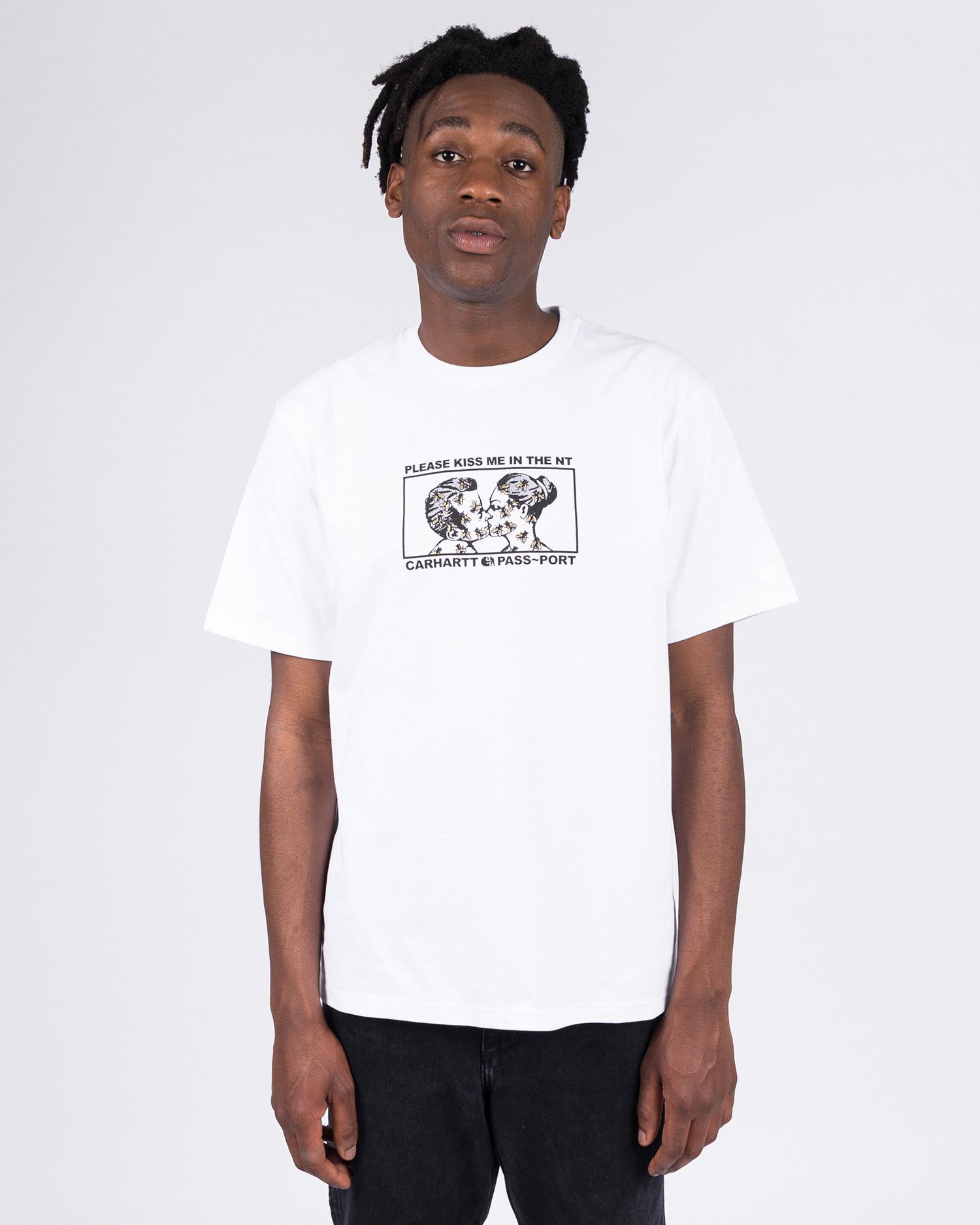 Carhartt X Passport Good Bye T-shirt Passport White