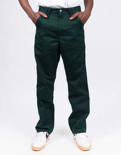 Carhartt X Passport Pall Pant Passport Bottle Green Stone Washed