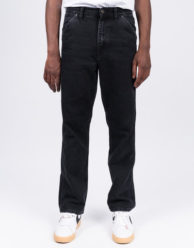 Carhartt X Passport Pall Pant Passport Black Stone Washed