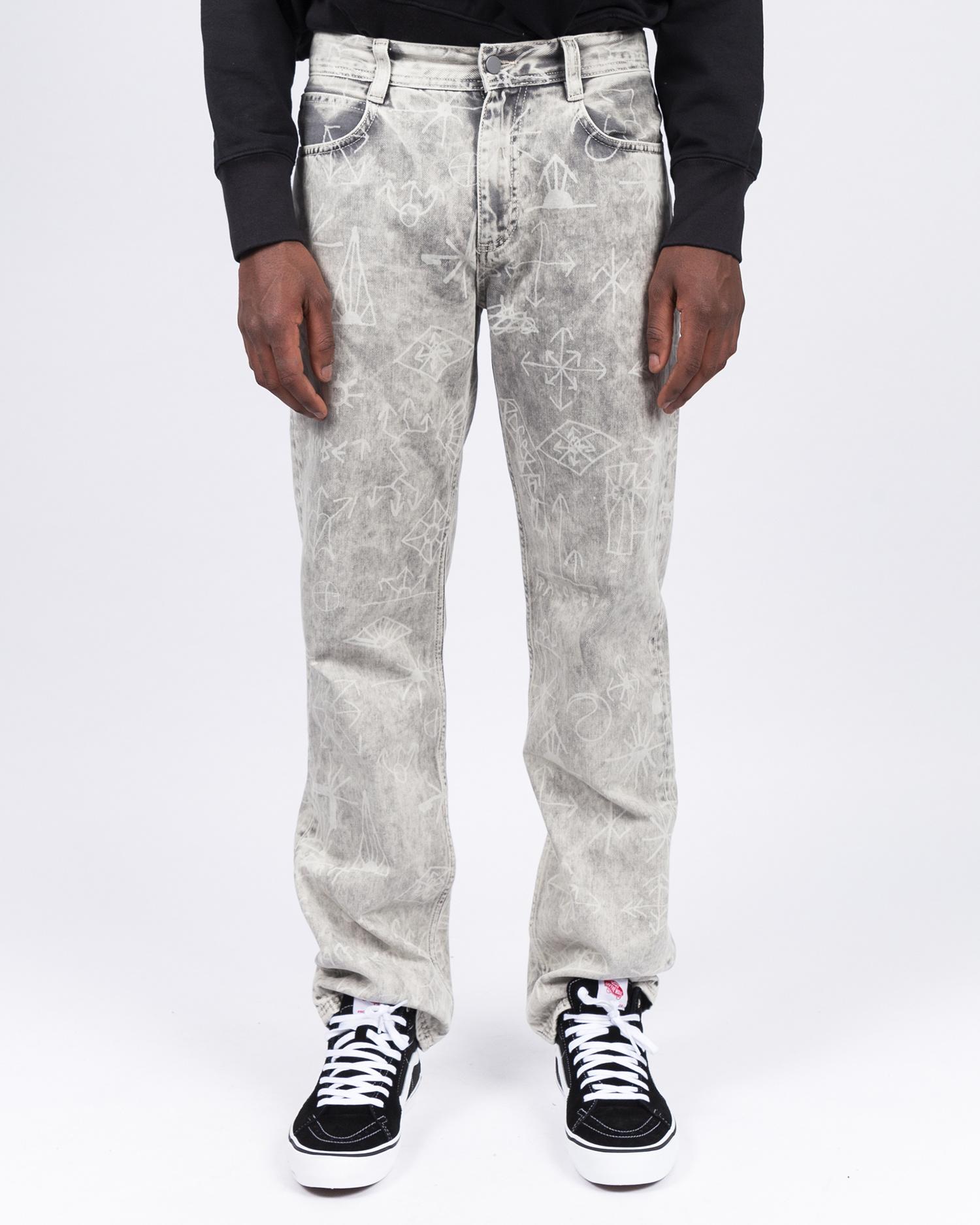 Paccbet Graphi Pant Light Grey