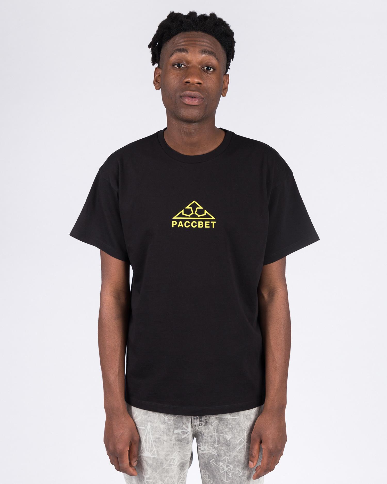 Paccbet Large Logo T-shirt Black