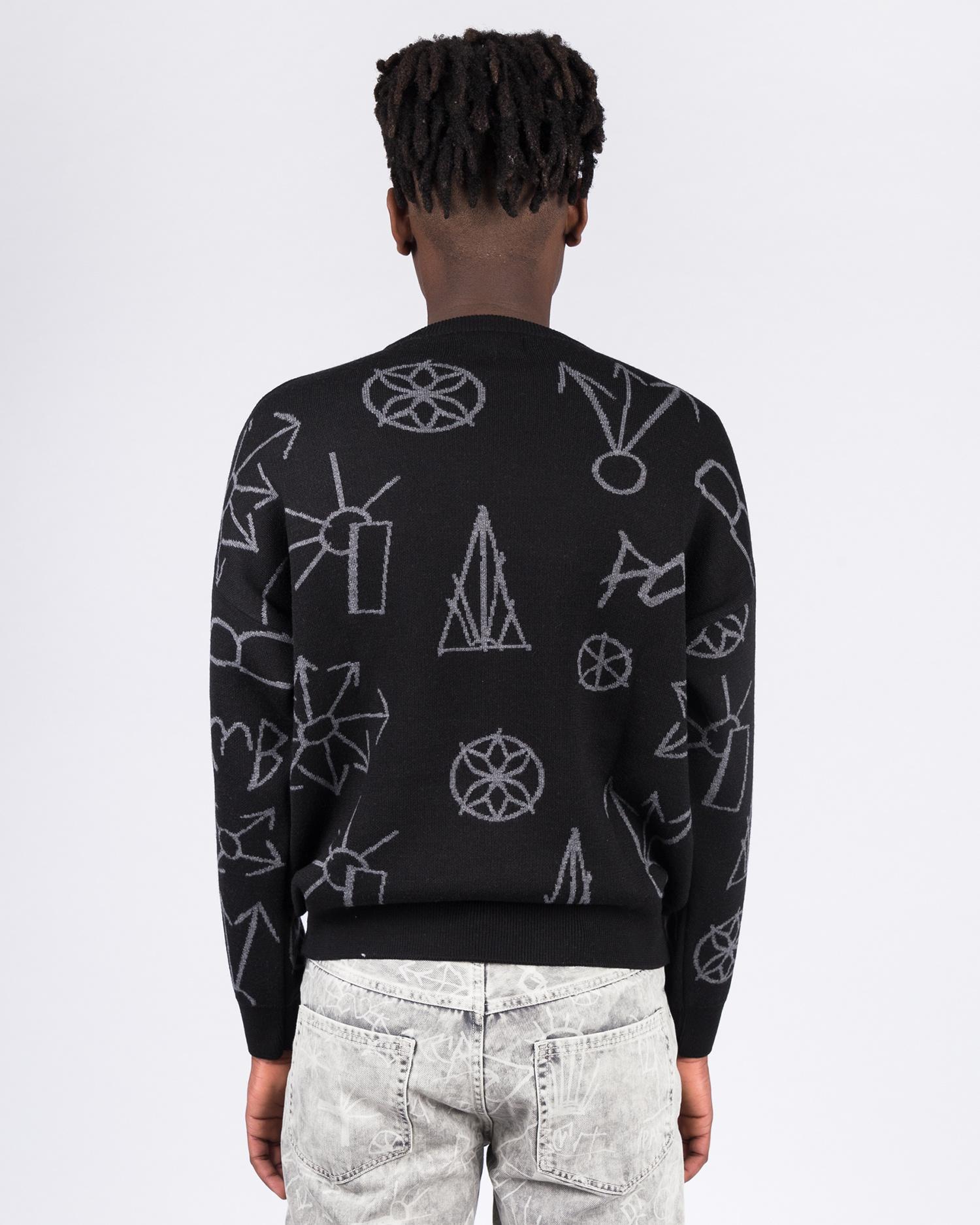 Paccbet Graphic Crew Black