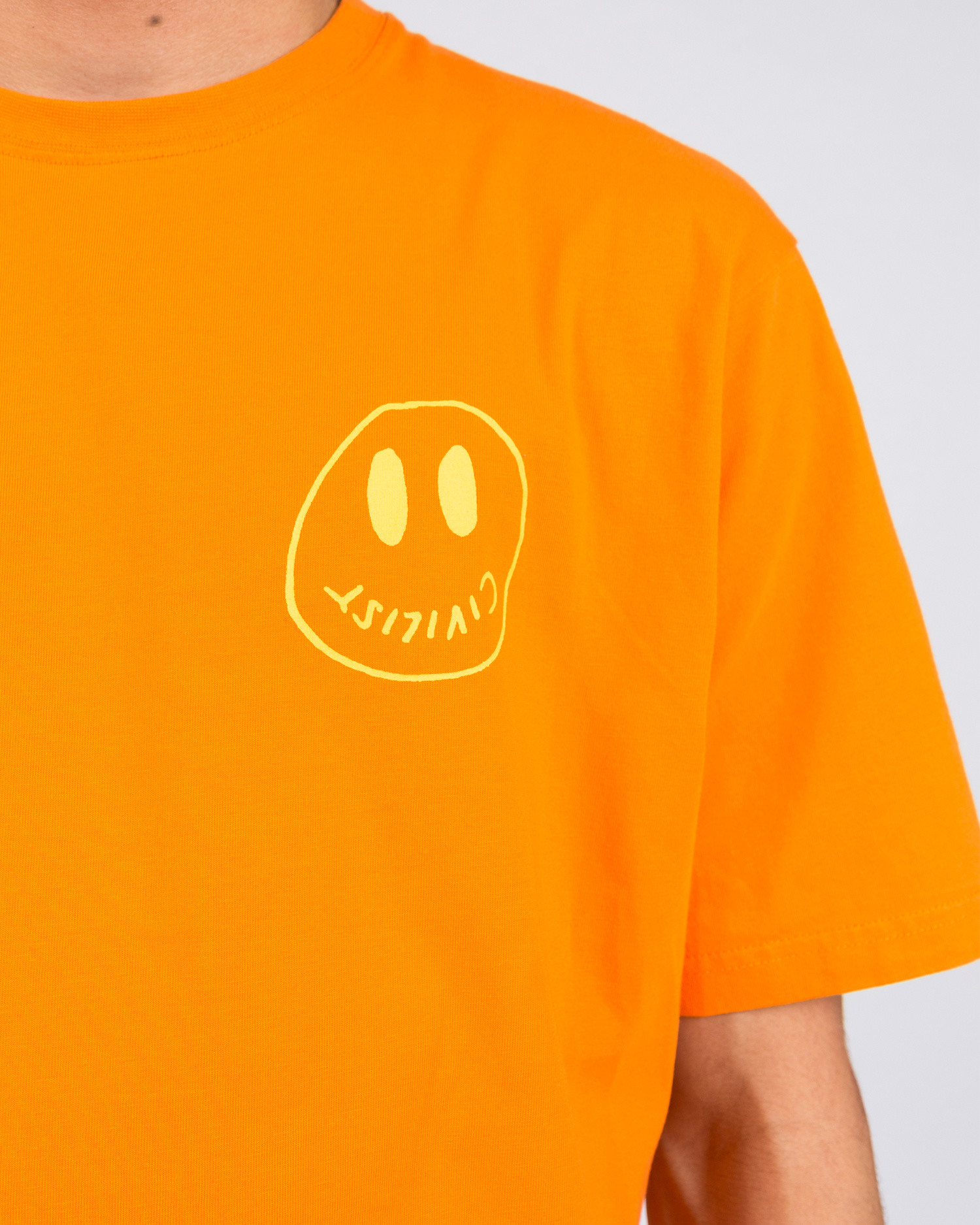 Civilist Smiler Tee Orange
