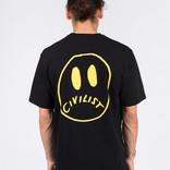 Civilist Smiler Tee Black