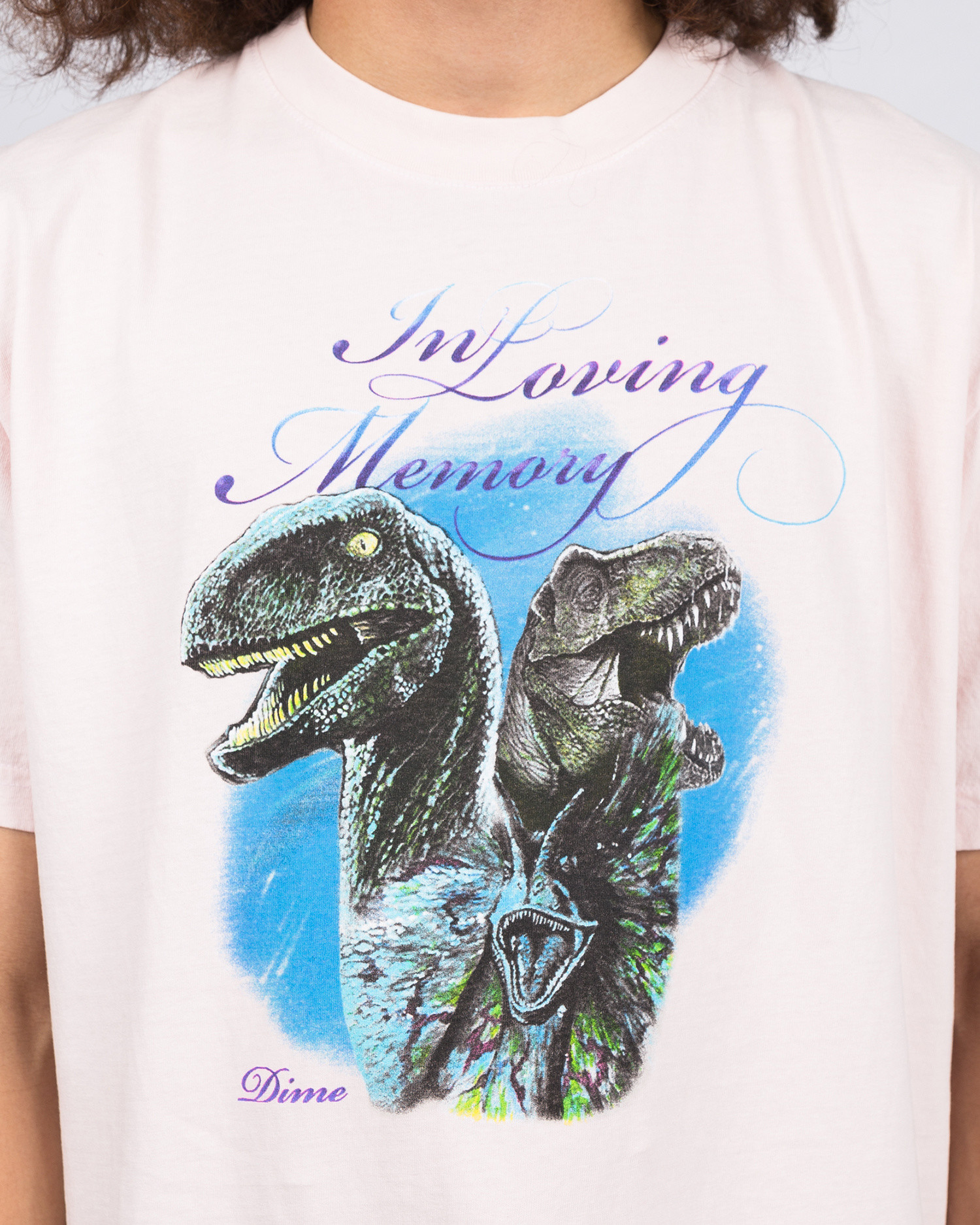 Dime Loving Memory T-Shirt Light Pink
