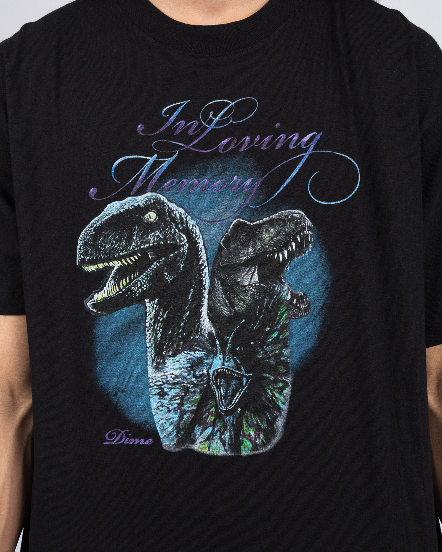 Dime Loving Memory T-Shirt Black