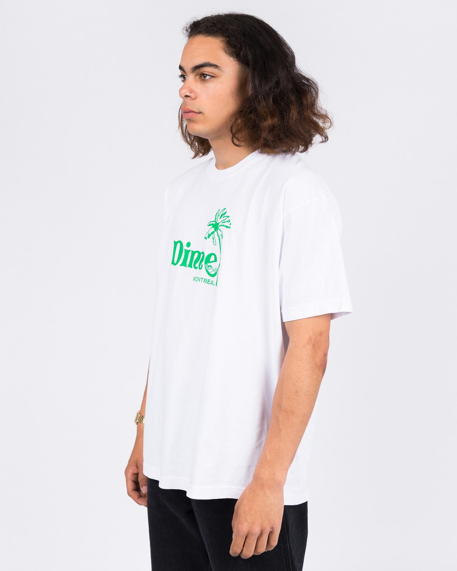 Dime Island T-Shirt White