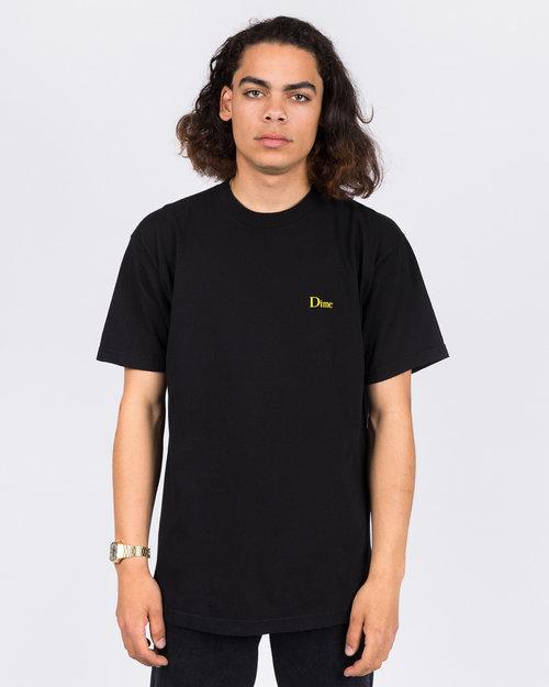 Dime Dime x Spitfire Swirl T-Shirt Black