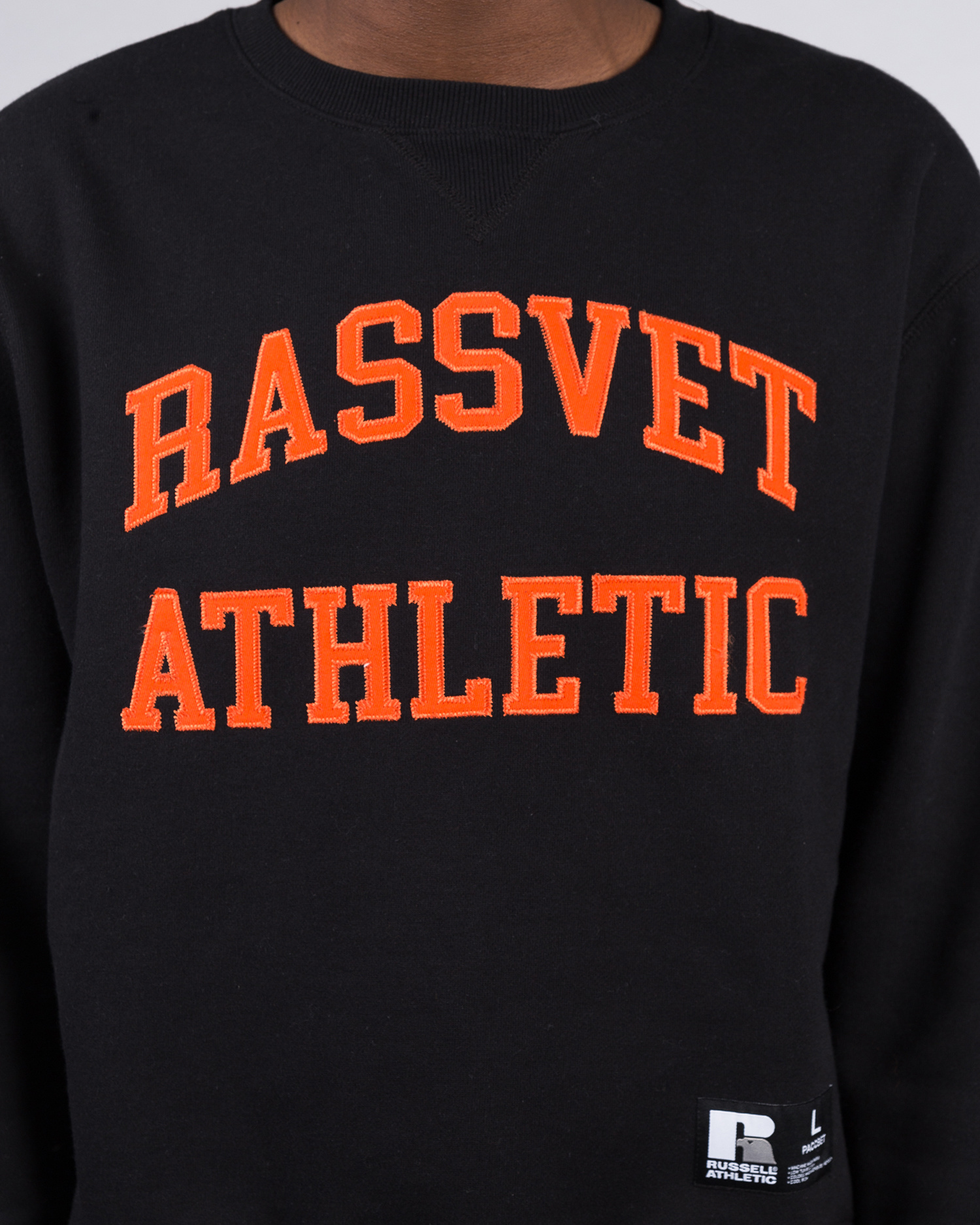 Paccbet X Russel Athletic crewneck Black