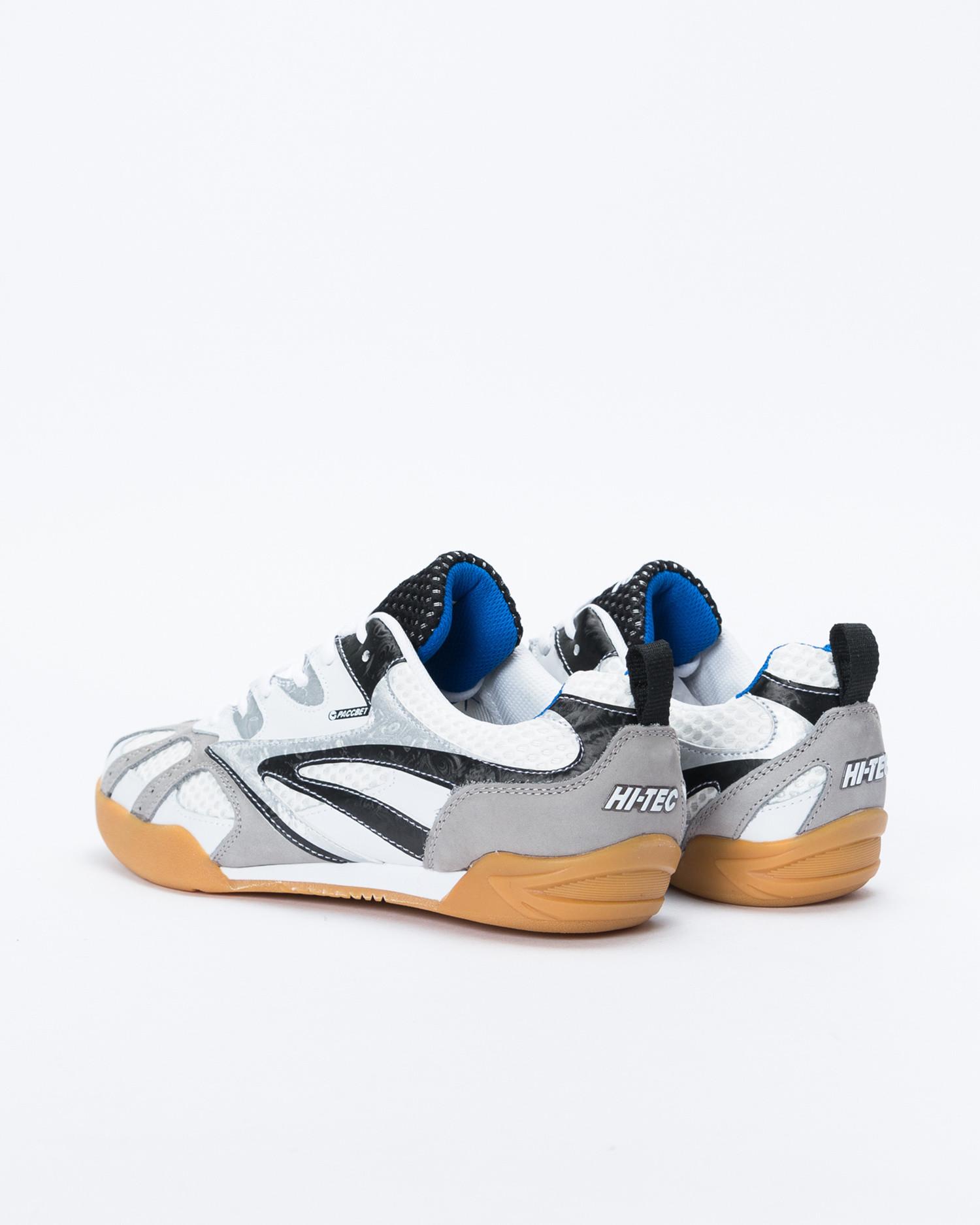 Paccbet X Hi-Tech Hybrid Squash Shoe White