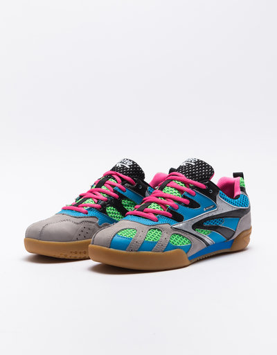 Paccbet X Hi-Tech Hybrid Squash Shoe Blue