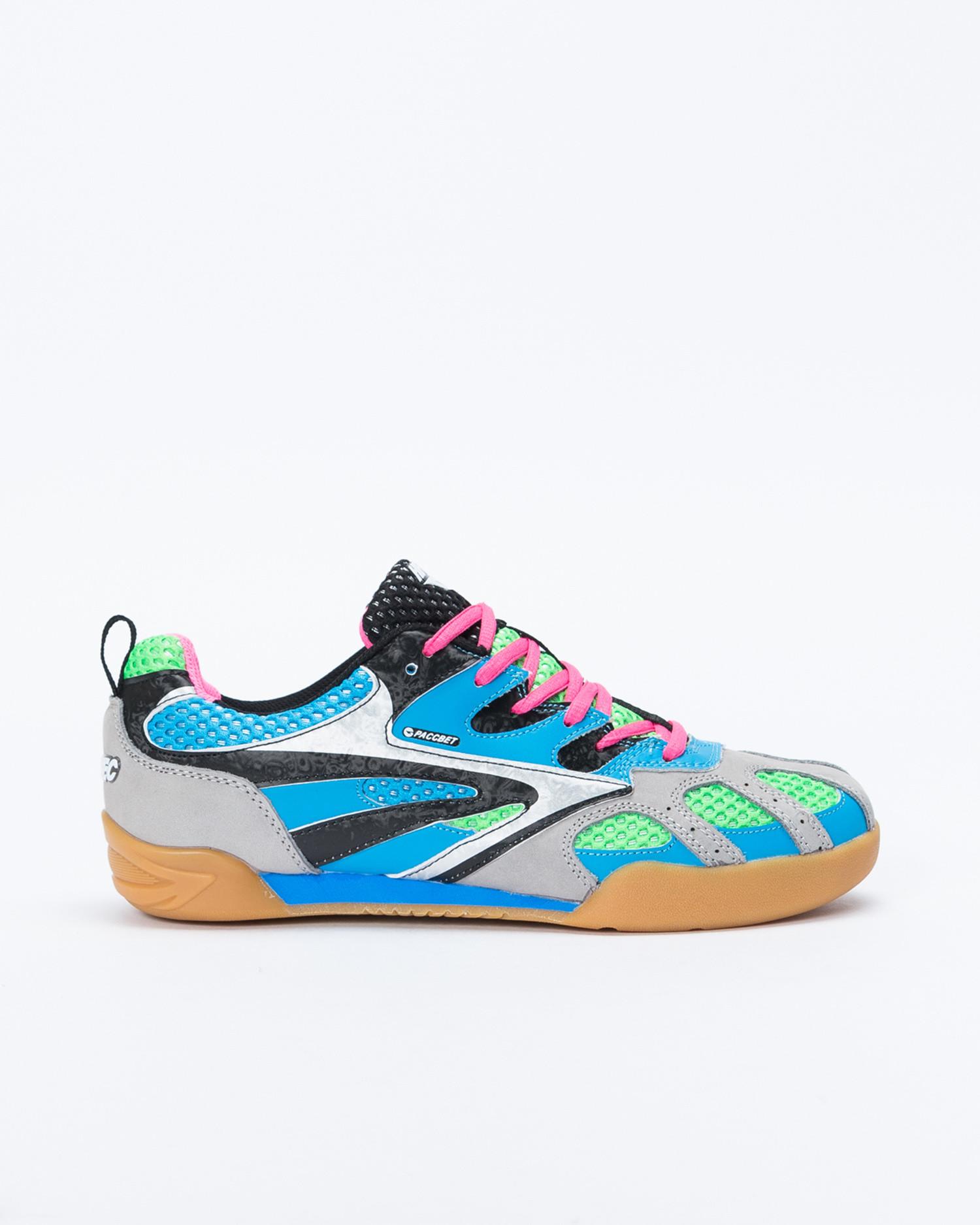 Paccbet X Hi Tech Hybrid Squash Shoe Blue