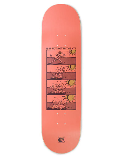 Carhartt X PASSPORT DECK HOT HOT BOARD Pastel Coral 8