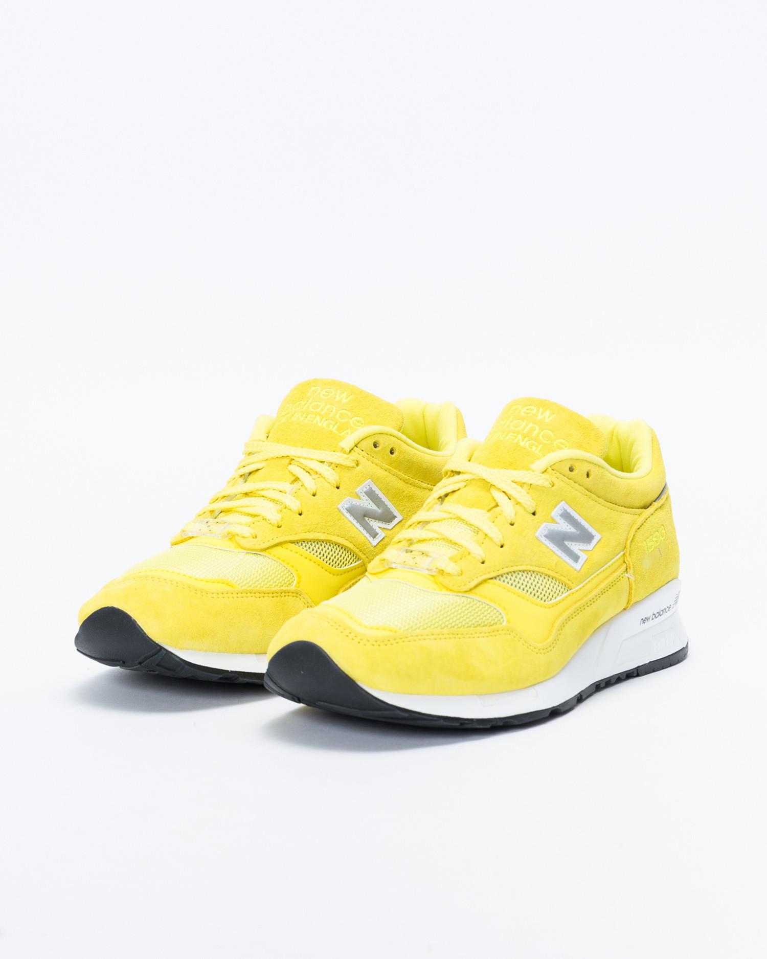 New Balance x Pop Trading Co M1500 Electric Yellow