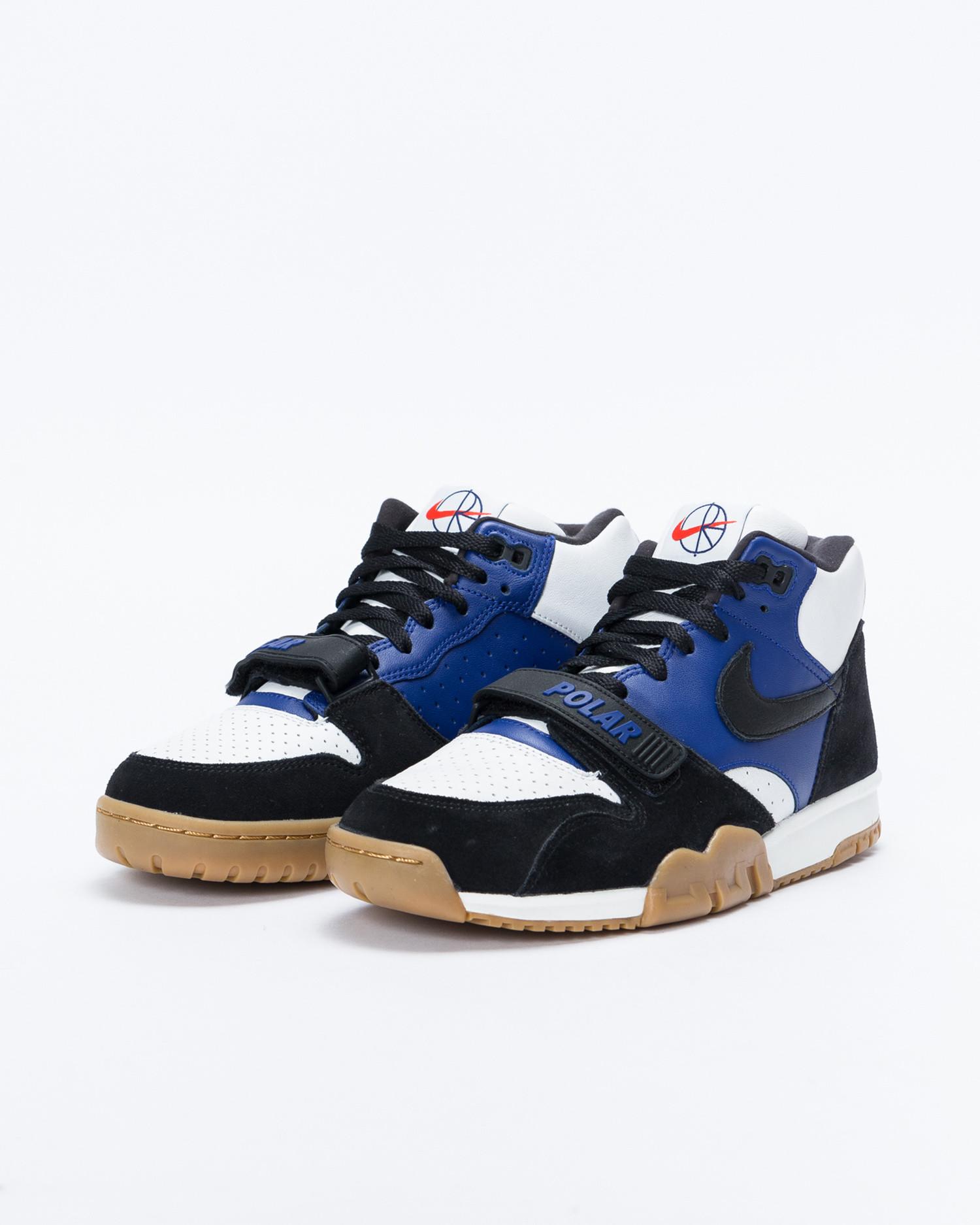 Nike SB x POLAR  Air Trainer I QS Black/Black-Deep Royal Blue-Summit White