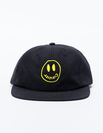 Civilist Smiler Corduroy Cap Black