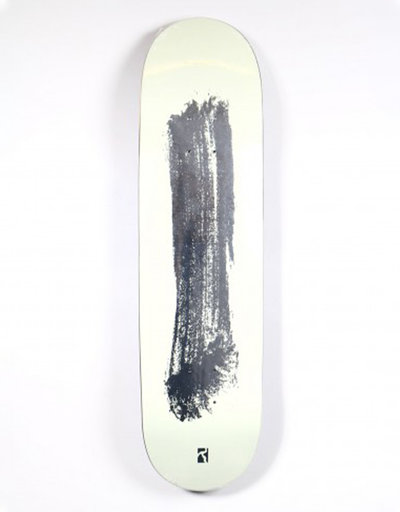 Poetic Collective Silver stroke Deck 8""