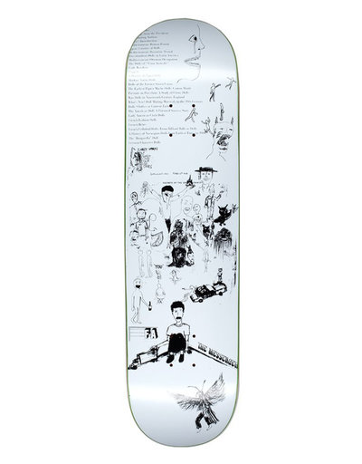 "Fucking Awesome Dill Drawings White 8,25"" Deck"