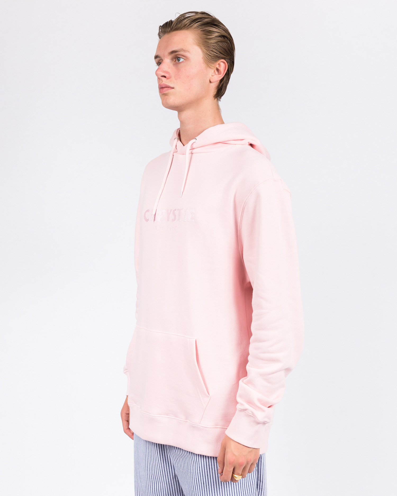 Chrystie Og Logo Hoodie Apricot
