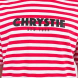 Chrystie Stripe T-Shirt Red