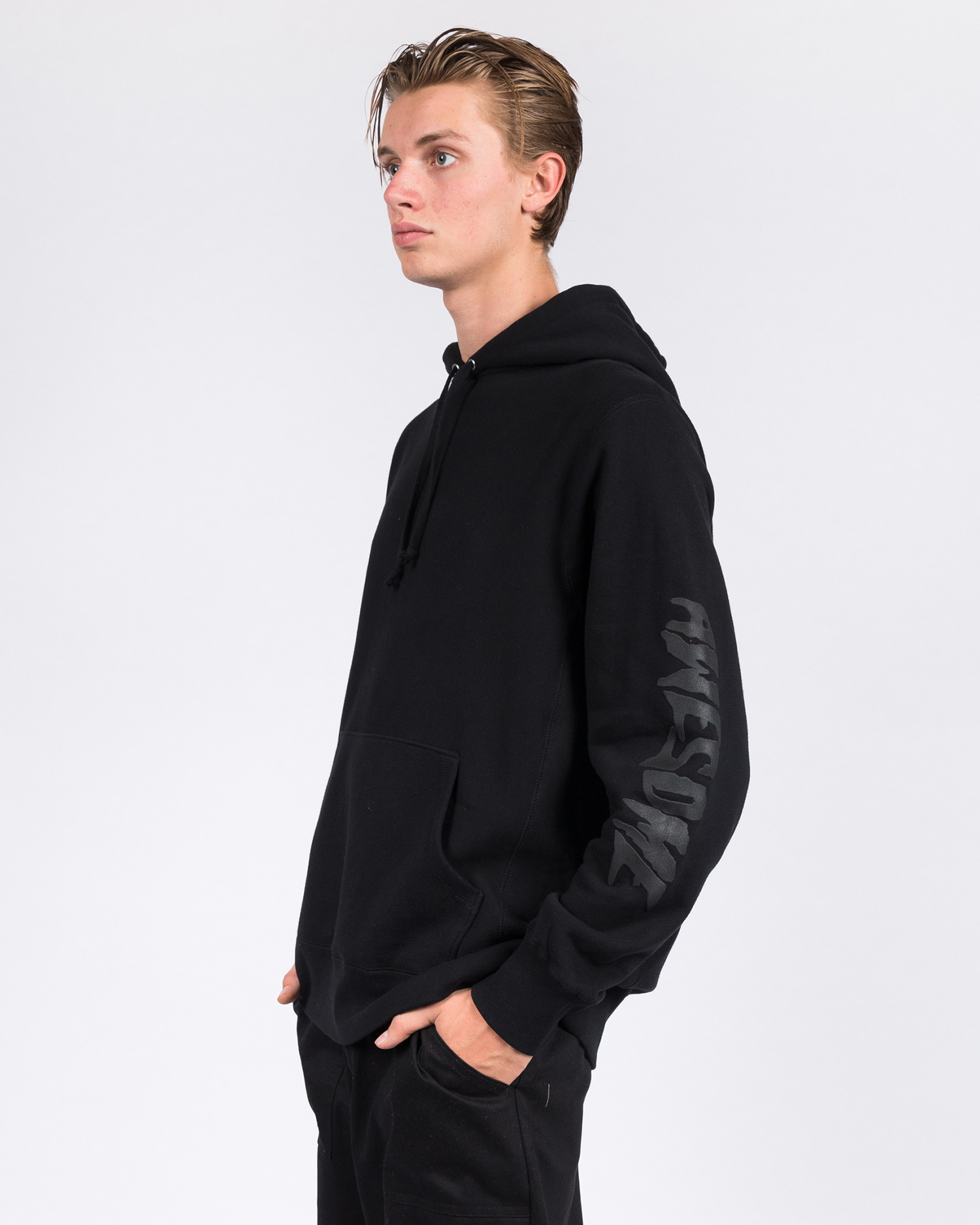 Fucking Awesome Nautical Rome French Terry Hoodie Black