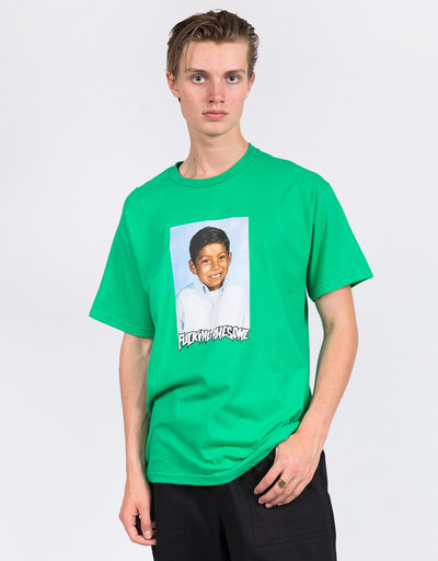 Fucking Awesome Louie Lopez Class Photo T-Shirt Irish Green