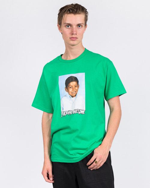 Fucking Awesome Fucking Awesome Louie Lopez Class Photo T-Shirt Irish Green