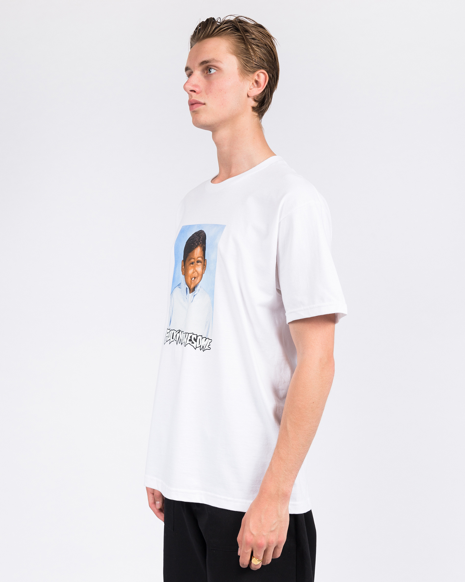 Fucking Awesome Louie Lopez Class Photo T-Shirt White