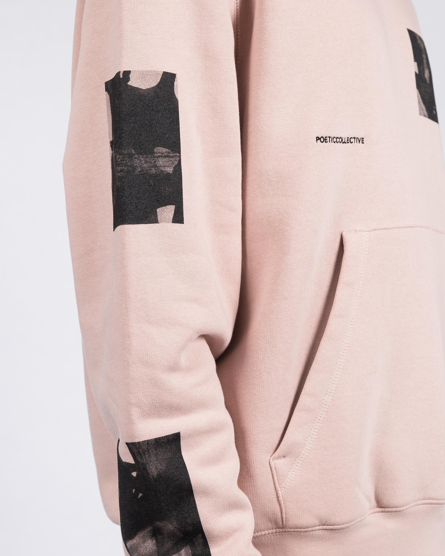 Poetic Collective  Fluid Hoodie Pink