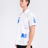 Poetic Collective Fluid Shortsleeve White