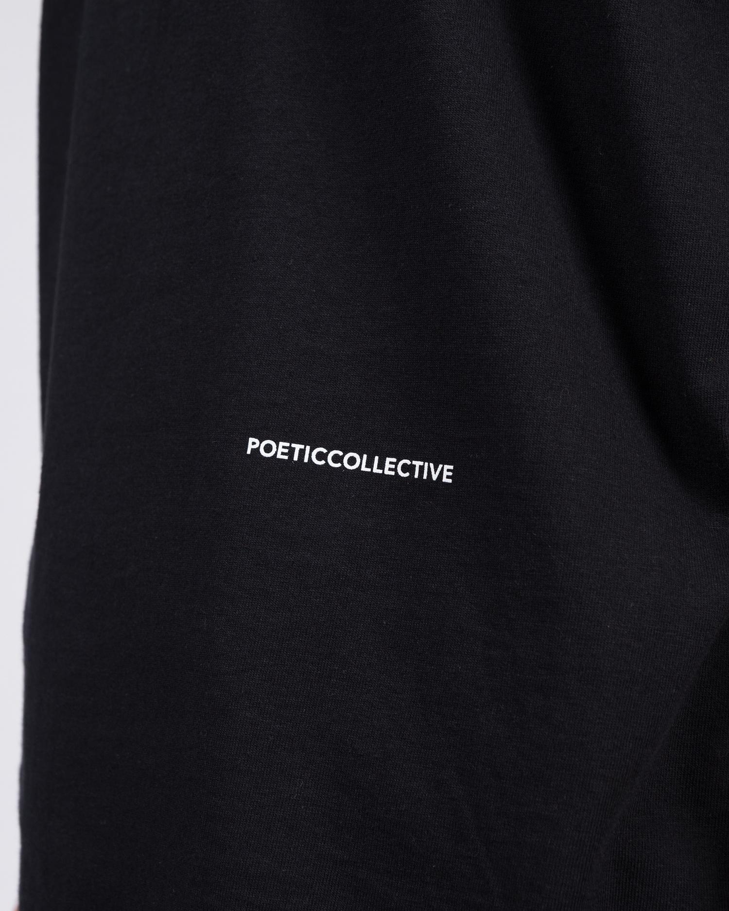 Poetic Collective Fluid Tee Black