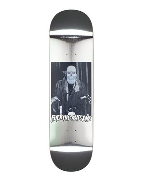"""Fucking Awesome Fucking Awesome 1984 Reflective Silver 8,3"""" Deck"""