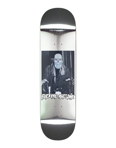 "Fucking Awesome 1984 Reflective Silver 8,3"" Deck"