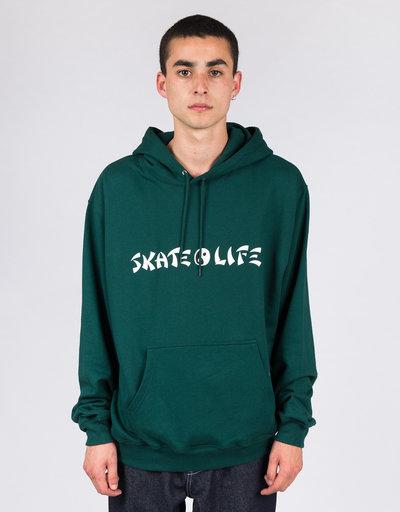 Polar Skatelife Hoodie Dark Green