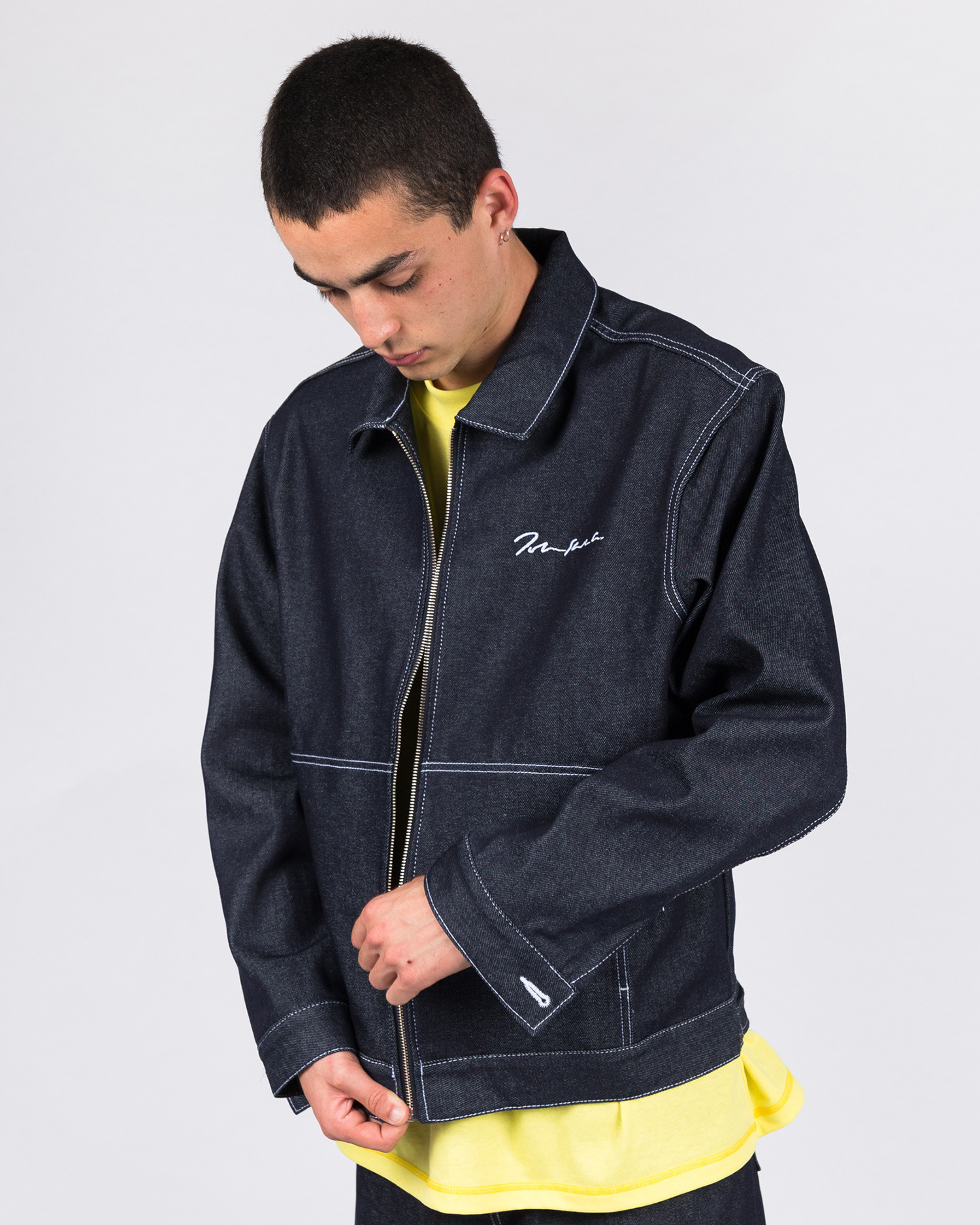 Polar '94 Denim Jacket Raw Denim