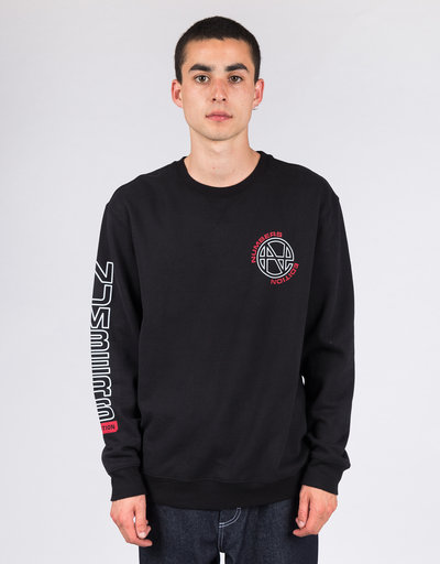 Numbers Edition Crewneck N.E. Fleece Crew Black