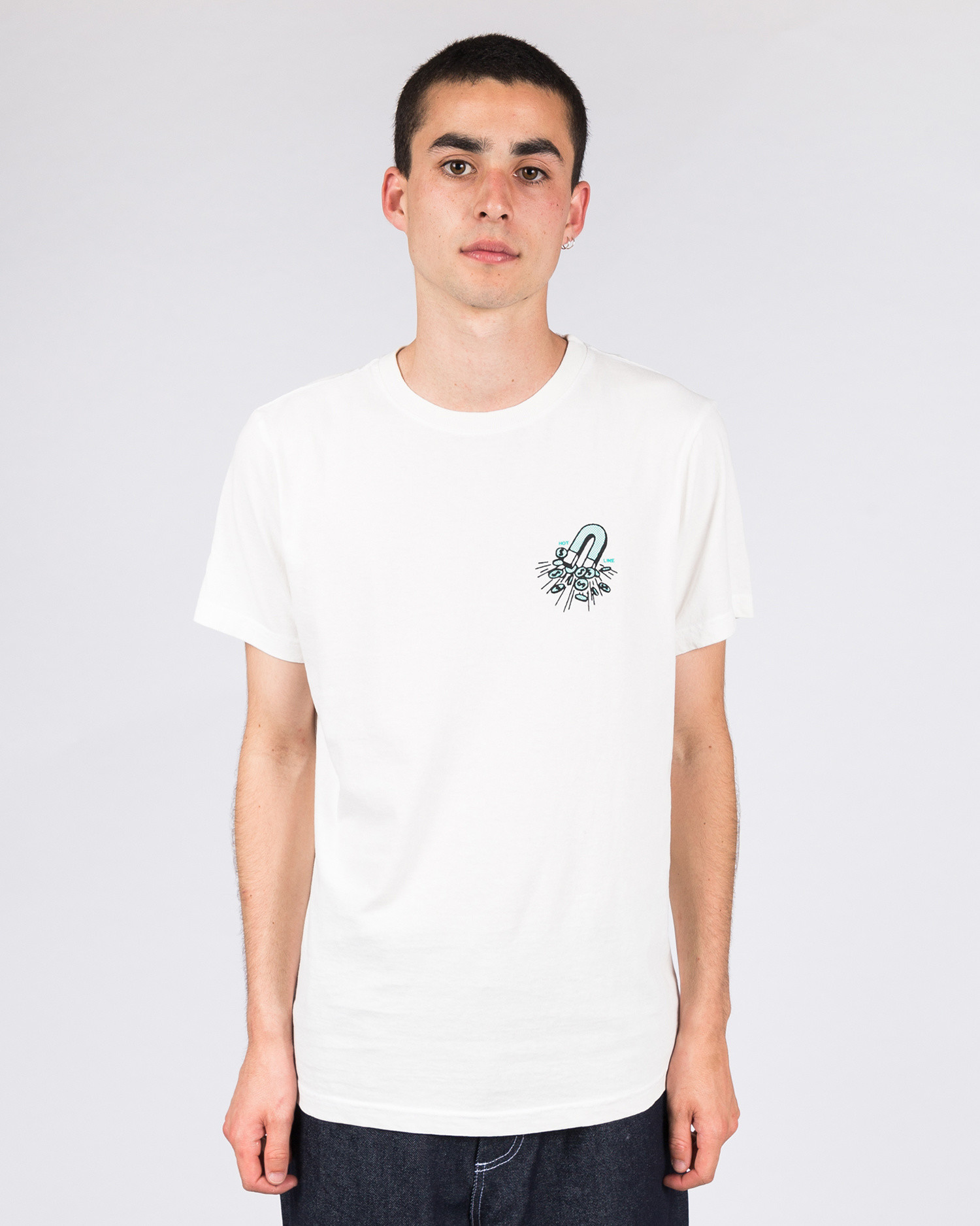 Numbers Edition Scales Tee Off White
