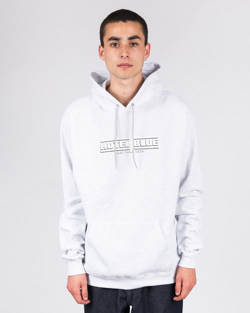 Hotel Blue Hotel Blue Speed Racer Champion Hoodie Grey