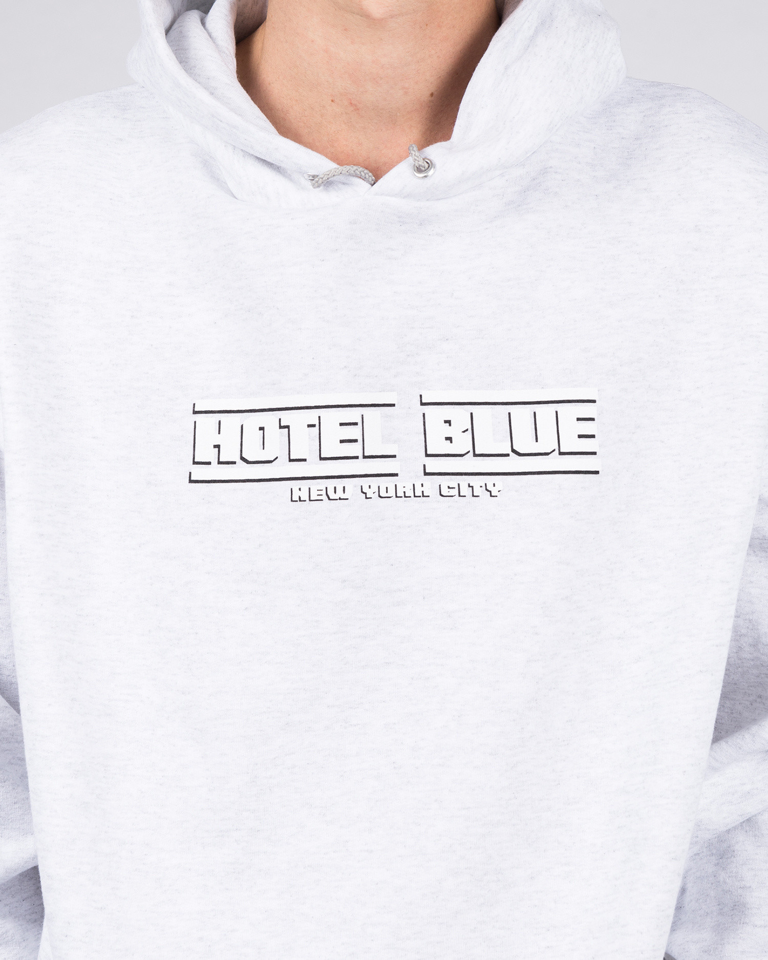 Hotel Blue Speed Racer Champion Hoodie Grey