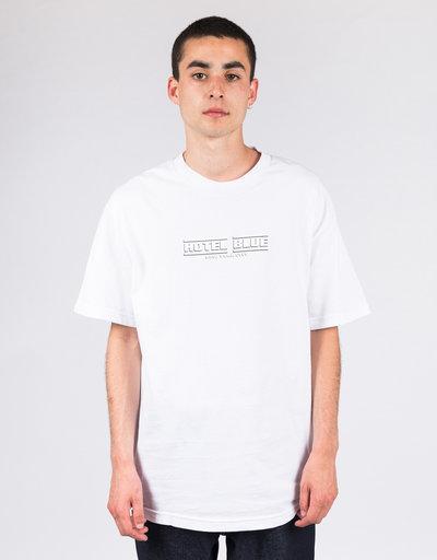 Hotel Blue Speed Racer T-Shirt White