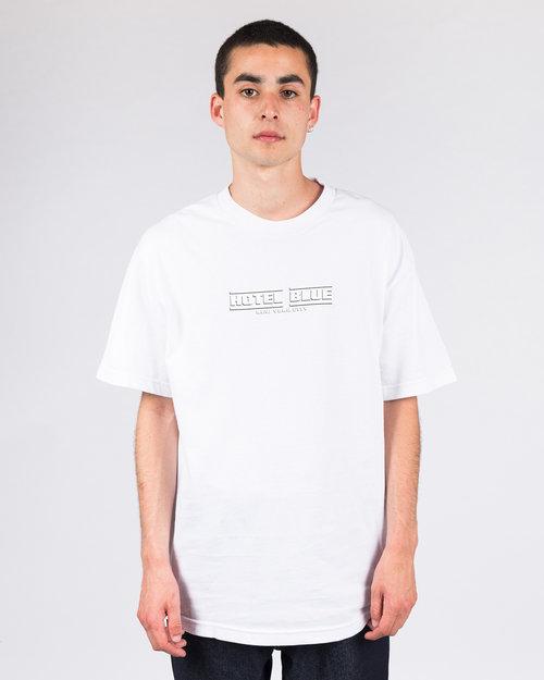 Hotel Blue Hotel Blue Speed Racer T-Shirt White