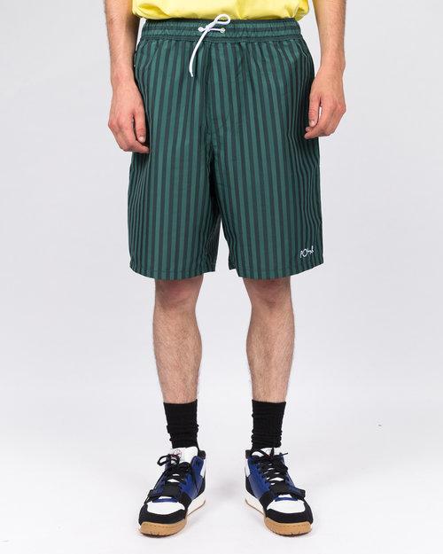 Polar Polar Stripe Swim Shorts Dark Green