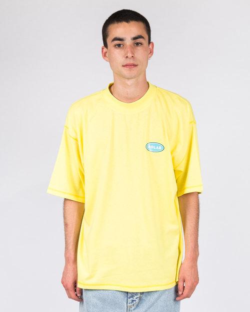 Polar Polar Station Logo Surf Tee Yellow