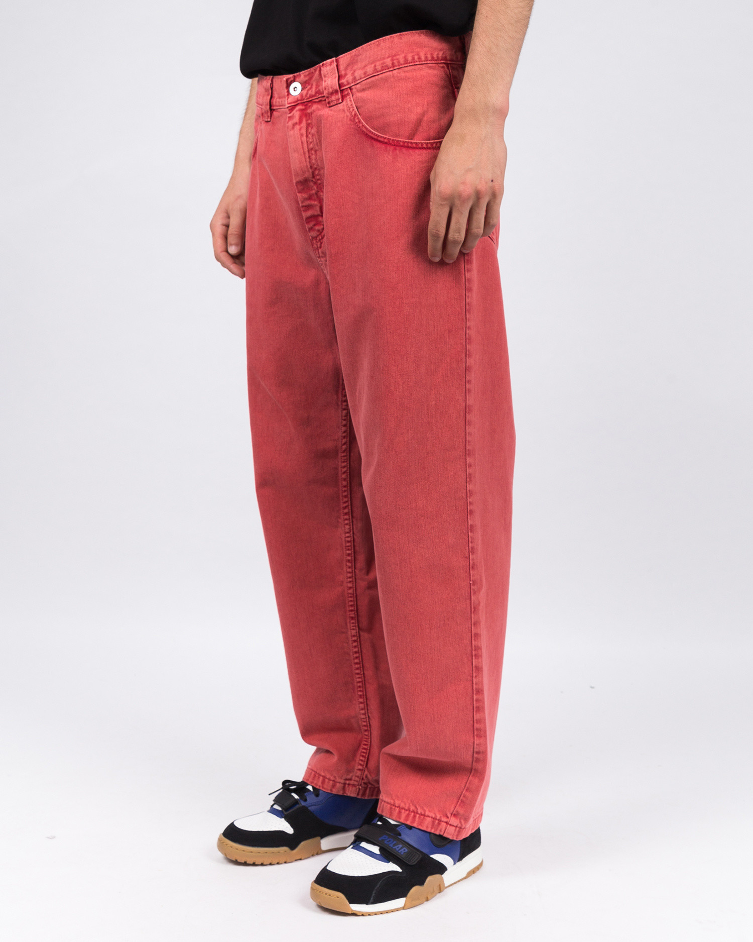 Polar '93 Denim Jeans Washed Red