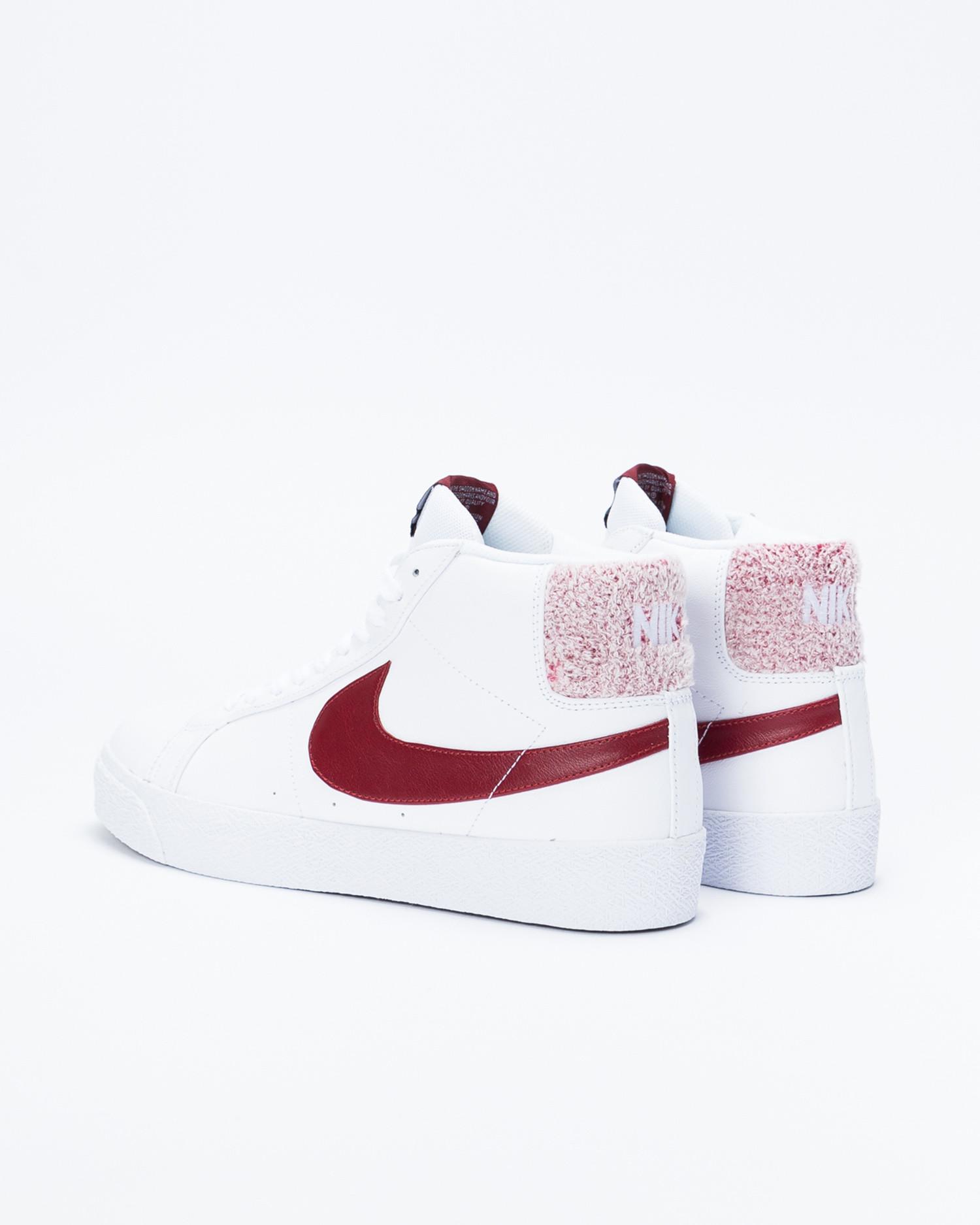 new style b36d5 124f7 Nike SB Zoom Blazer Mid Premium White/Team Red
